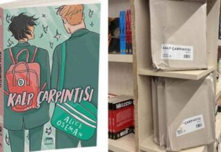 Ana Karakterleri Eşcinsel Olan 'Kalp Çarpıntısı' Kitabı, Türkiye'de Kapalı Zarflarda Satılıyor