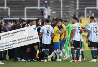 Askıya Alınan Brezilya-Arjantin Maçına Tepki Yağdı: İşte Gelen Tepkiler
