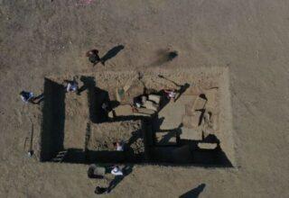 Dünyaca Ünlü Zeus Tapınağı'nın Giriş Kapısına Aydın'da Ulaşıldı