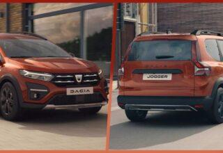 Geniş Ailelerin Favorisi Olacak Dacia'nın İlk Hibrit Otomobili Jogger Tanıtıldı
