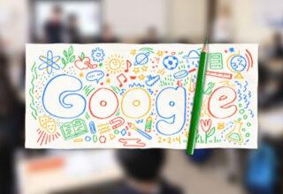 Google, Yüz Yüze Eğitimin İlk Günü İçin Özel Bir Doodle Yayınladı