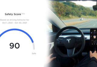 Görelim Bakalım Kim İyi Şoförmüş: Tesla, Sürücülerin Puanlanacağı'Güvenlik Puanı' Sistemini Tanıttı