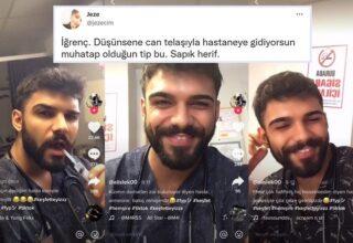 Hastalara Sulanıp Video Çeken TikTokçu Erkek Hemşire Sosyal Medyada Tepki Topladı
