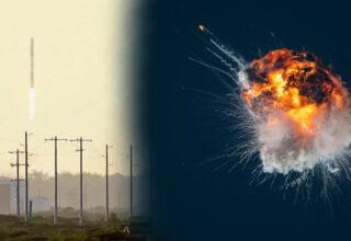 İlk Test Uçuşunu Gerçekleştiren Bir Roket, Fırlatıldıktan Bir Süre Sonra Havada Patladı [Video]
