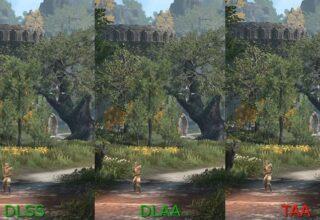NVIDIA'nın Kusursuz Kenar Yumuşatmayı Hedefleyen DLAA Teknolojisi, Günümüz Teknolojisiyle Karşılaştırıldı