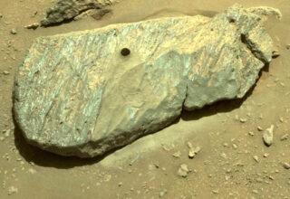 Robot Süpürge Yollasak Daha Çabuk Toplardı: Perseverance, Mars'taki 7. Ayında Dünya'ya Gelecek İlk Numuneyi Topladı