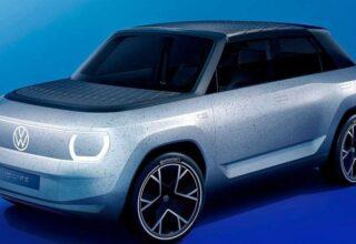 Volkswagen, Bilgisayar Oyunlarından Fırlamış Gibi Görünen Yeni Elektrikli Otomobil Konseptini Gösterdi